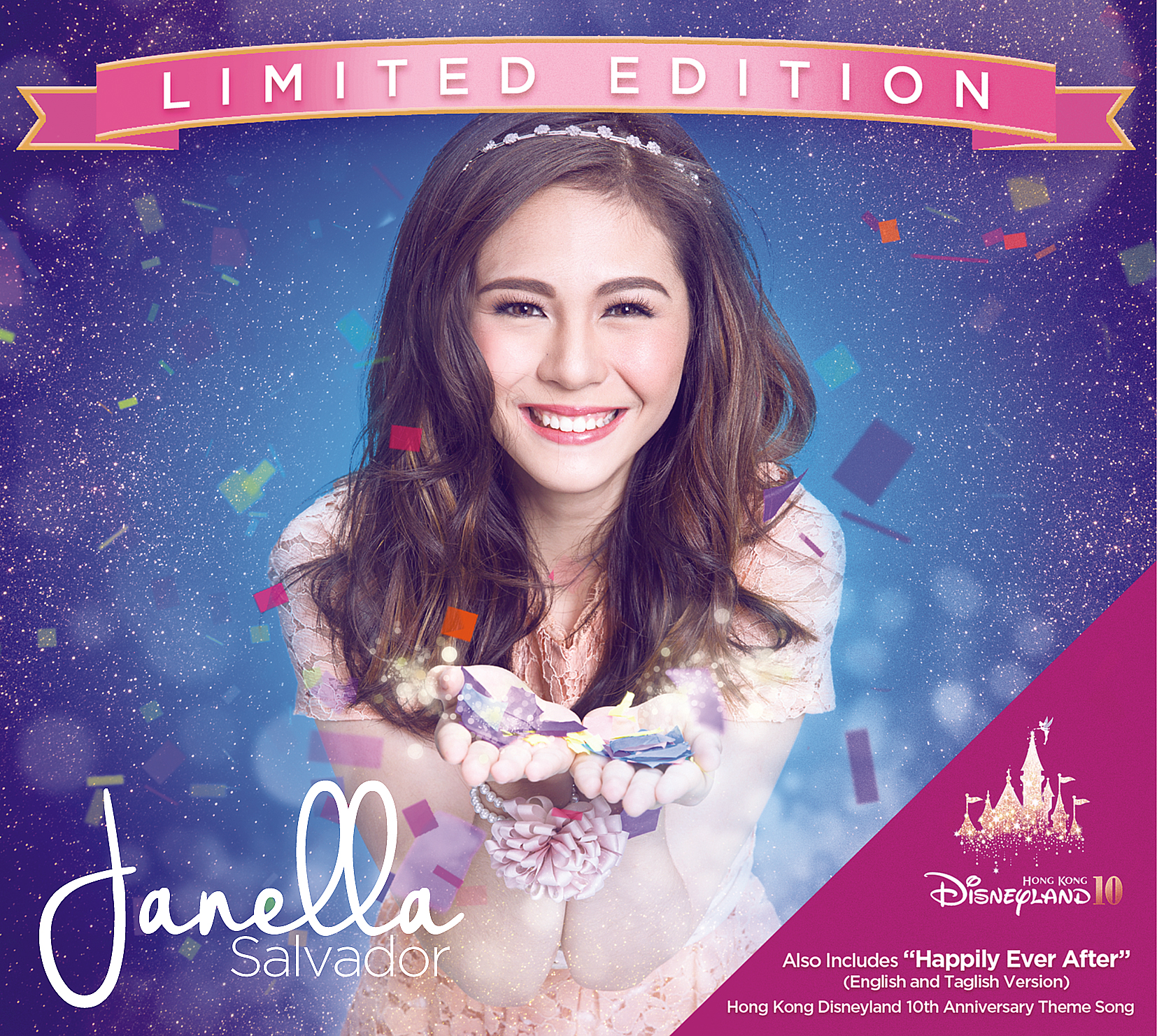 Janella's limited self-titled album features Hong Kong Disneyland 10th Anniversary  Theme Song