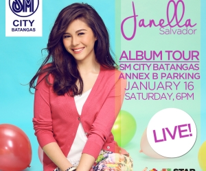Janella Salvador Album Tour