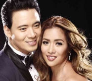 Erik Santos and Angeline Quinto at ASAP Chill-out 2/12/12