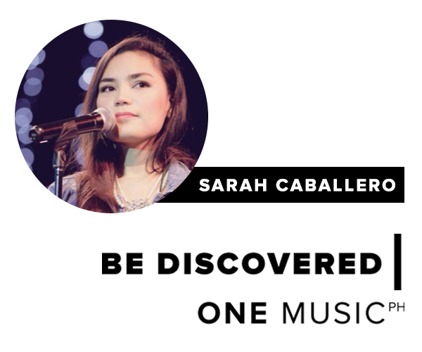 Be Discovered Session: Sarah Caballero!