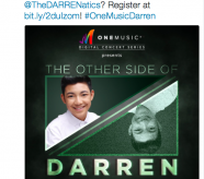 Are you excited to see Darren live?