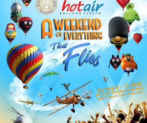 The Philippine International Hot Air Balloon Fiesta is back!