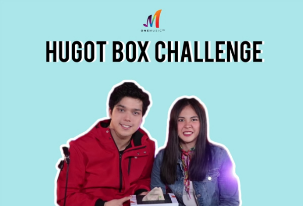The One Music Hugot Box Challenge with Elmo Magalona and Janella Salvador
