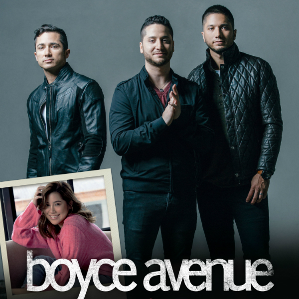 Boyce Avenue coming back to Manila, to be joined by Moira!