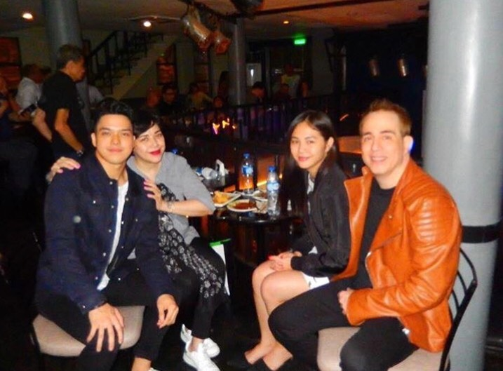 IN PHOTOS: Janella Salvador spotted at dad's gig with Elmo Magalona
