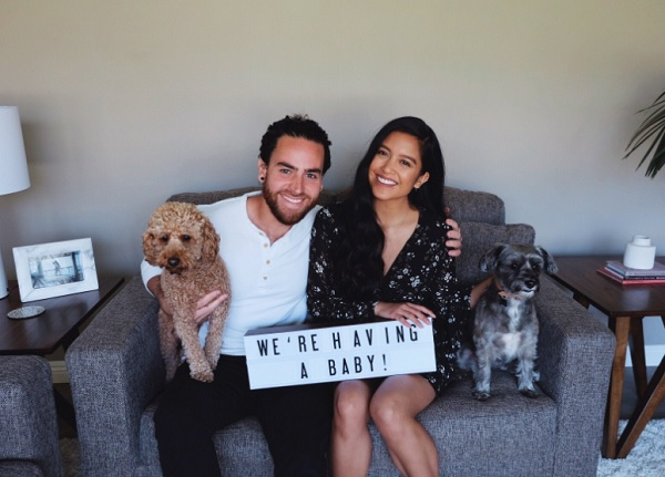 This musician couple has a unique way of announcing pregnancy