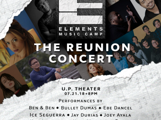 Get ready for the Elements Music Camp reunion concert!