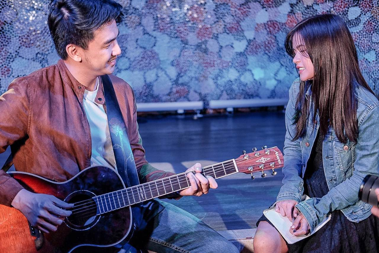 Maris Racal and Migz Haleco write a song together on Wander Jam