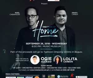 Noel Cabangon, Davey Langit collab for 'Dreaming of Home'