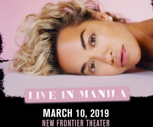 Global Pop Star Rita Ora is Coming to Manila!