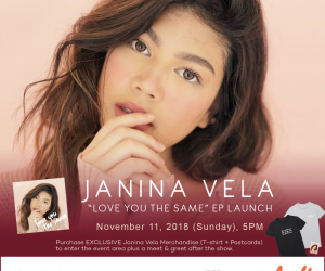 Janina Vela to launch debut EP 'Love You the Same'