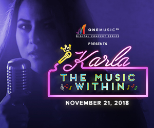 One Music PH Presents: Karla Estrada: The Music Within - a birthday concert