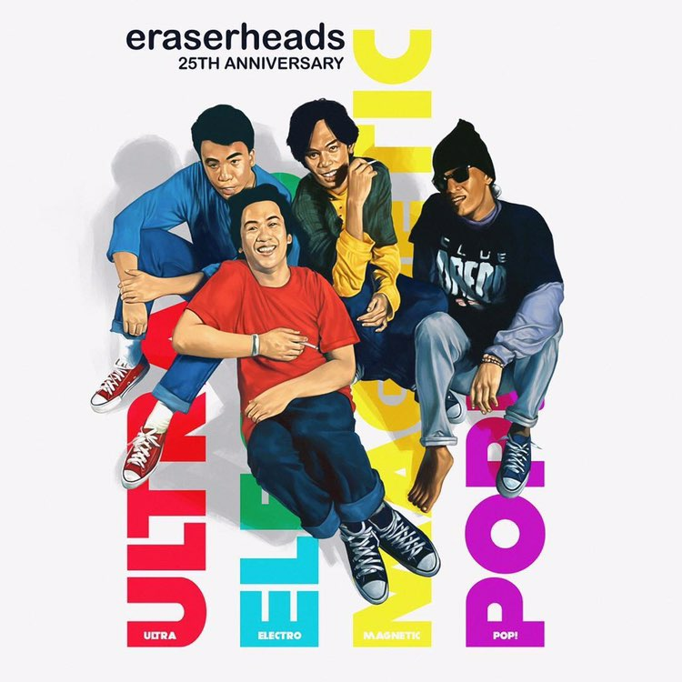 Eraserheads release 25th Anniversary edition of Ultraeletromagneticpop!