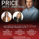 Rick Price with Joey G + Jinky Vidal for Valentine's Week