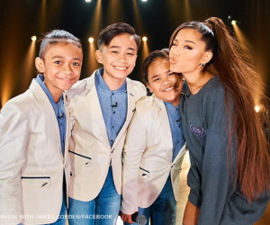 The TNT Boys meet Ariana Grande