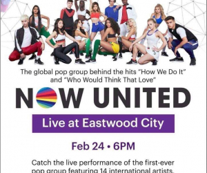 Now United Global Pop group coming back to Manila!