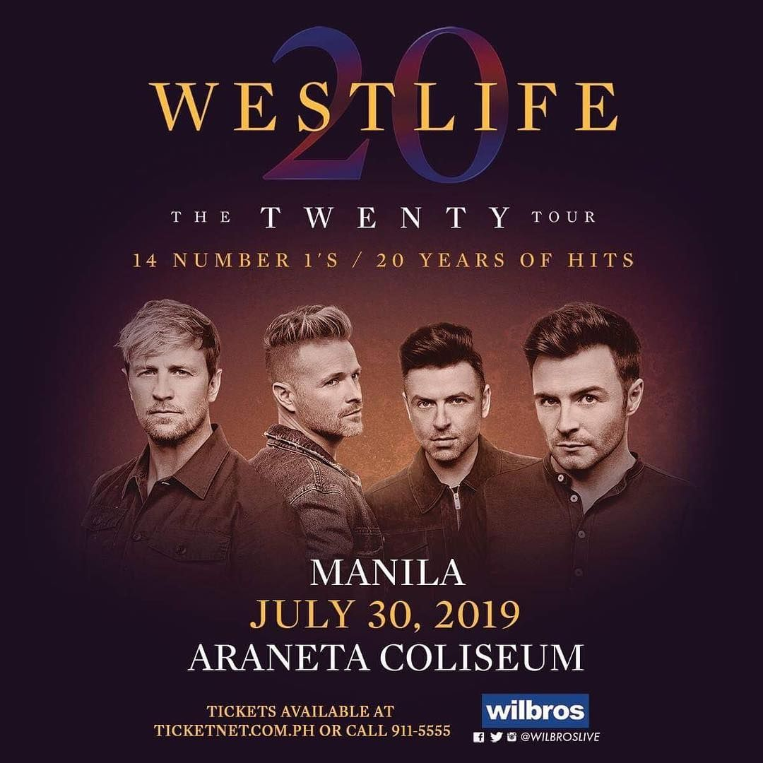 Westlife adds a second day to their Manila show! | One Music PH