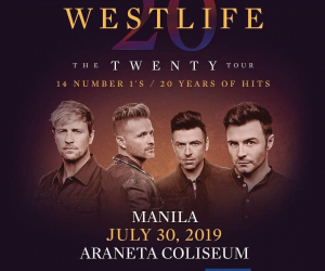 Westlife adds a second day to their Manila show!