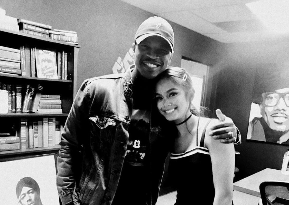 LOOK: Ylona Garcia meets Ne-Yo