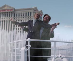 Céline Dion and James Corden recreate iconic Titanic scene