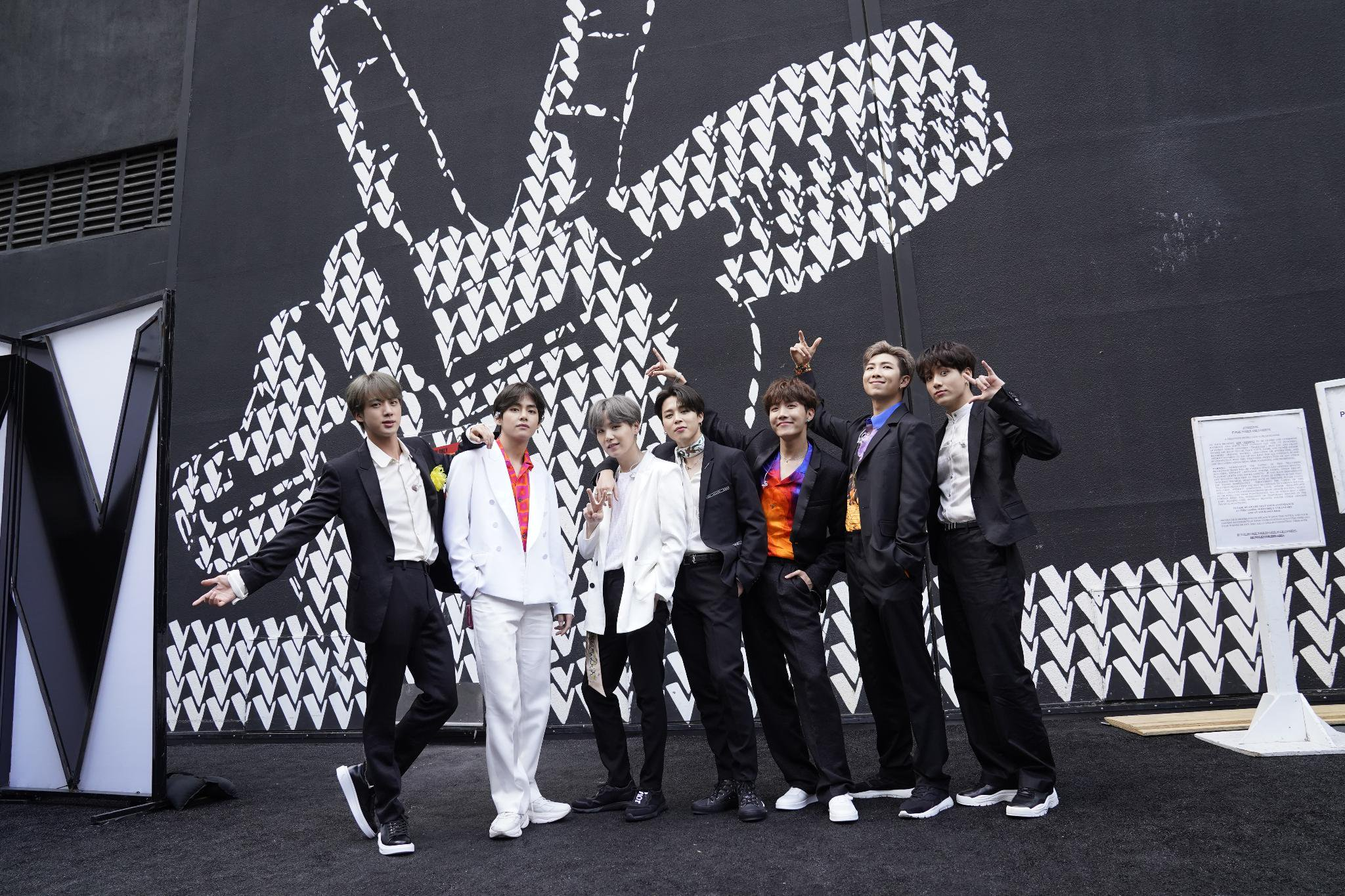 BTS lights up the stage on