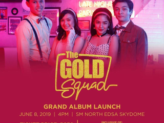 LOOK: Kadenang Ginto's 'Gold Squad' to launch album