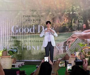 Park Bo Gum is excited to meet his Filipino Bogummies!
