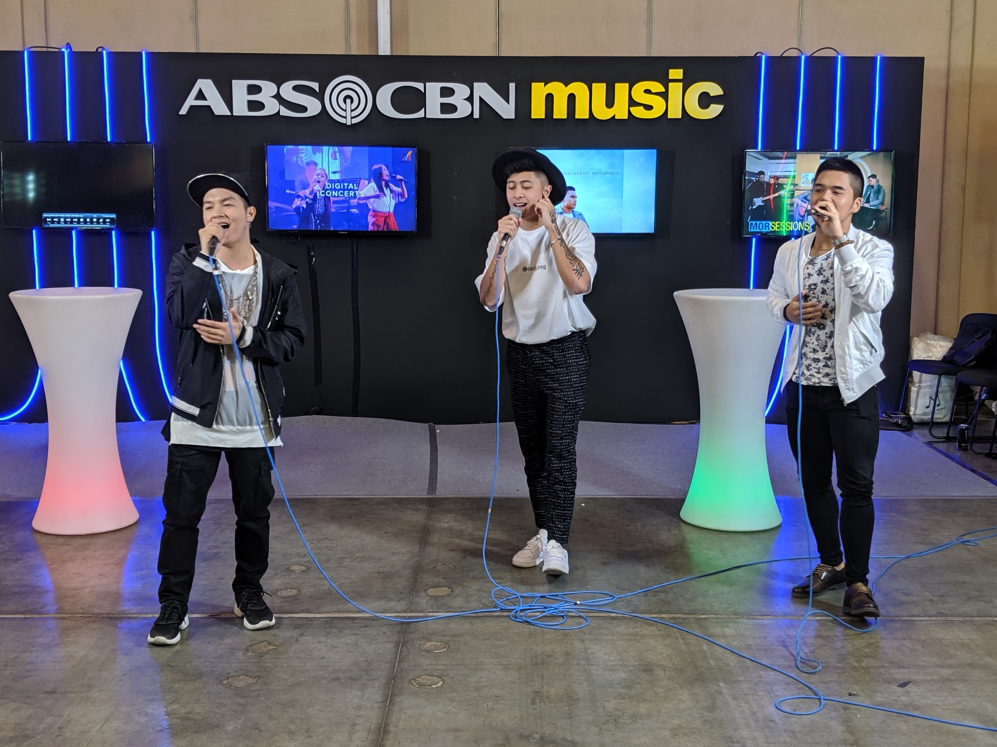 WATCH: Sam Mangubat, Justin Vasquez, and JMKO perform their Daniel Padilla mash-up LIVE!