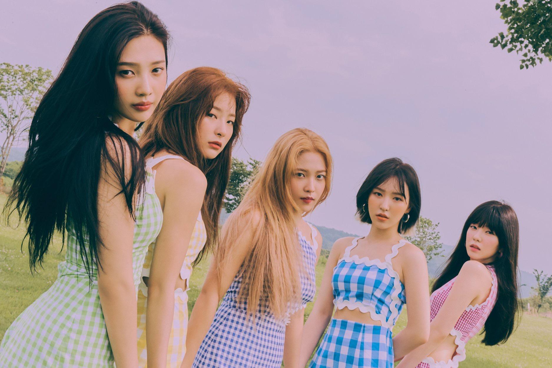 K-Pop Girl Group Red Velvet Releases New Retro-Inspired Album