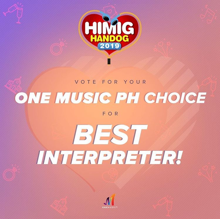 Vote For Your One Music PH Choice For Best Interpreter!