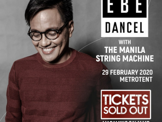 Ebe Dancel Sells Out First Major Concert