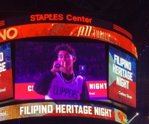 Inigo Pascual Performs During NBA Halftime