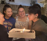 LOOK: Daniel Padilla celebrates birthday with mom, siblings