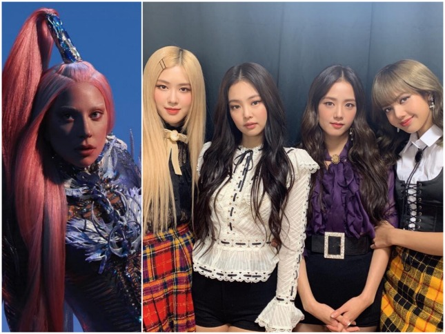 """Lady Gaga, BLACKPINK release collab """"Sour Candy"""""""