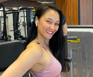 LOOK: Lovely Abella now a certified fitness instructor