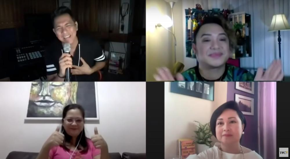 LOOK: Gary Valenciano surprises Filipina in Bangkok via digital concert