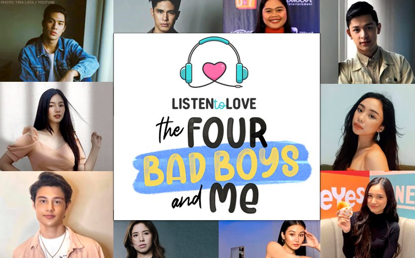 Author reveals more names to topbill 'The Four Bad Boys and Me' series adaptation