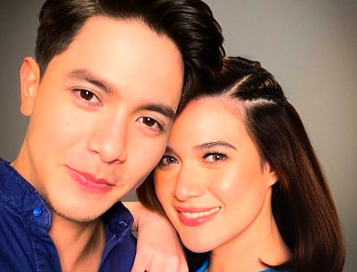 IN PHOTOS: Bea Alonzo and Alden Richards together in a TV commercial