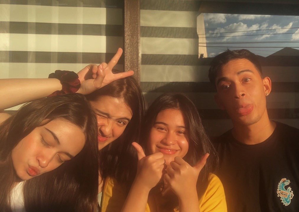 LOOK: After controversies, Diego Loyzaga spends time with half-sisters