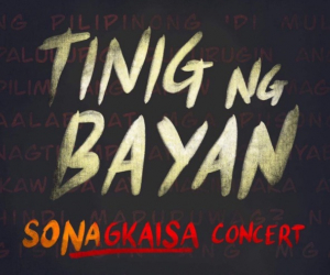 OPM artists join forces in 'Tinig ng Bayan' concert