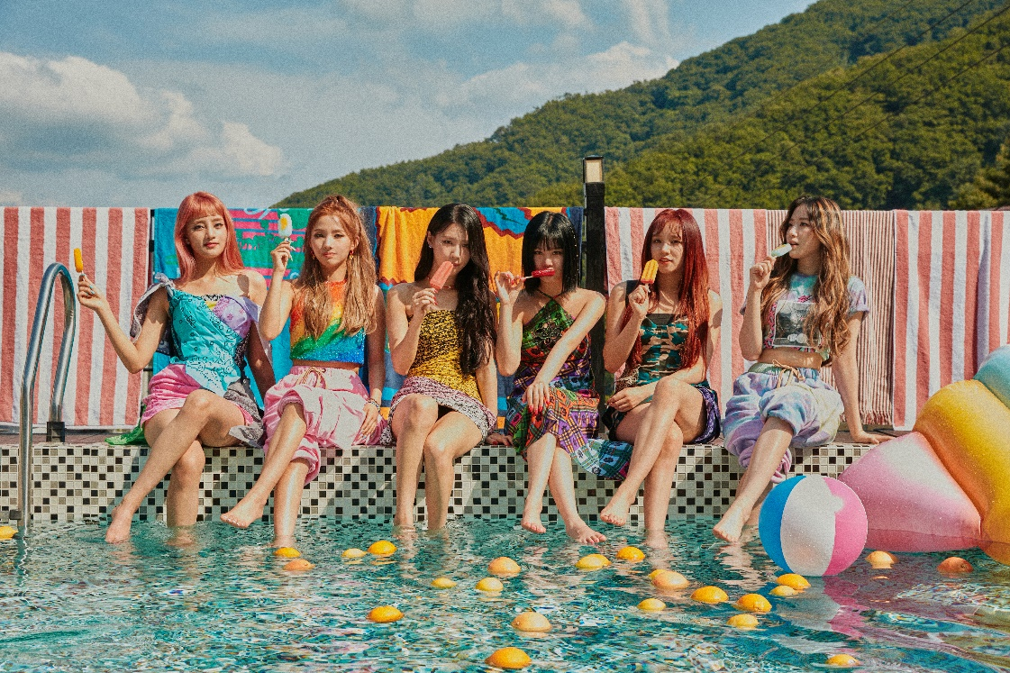 K-pop group (G)I-DLE releases new music
