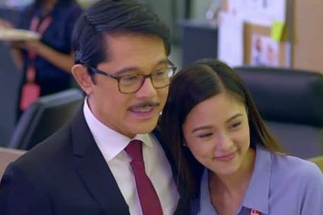Kim Chiu pays tribute to Christopher de Leon as he exits from 'Love Thy Woman'