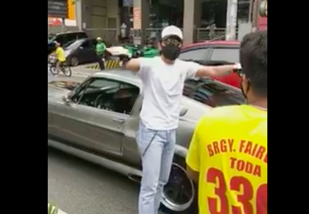 Just wow! Daniel Padilla gives money to tricycle driver who hit his car