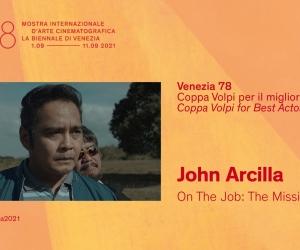 John Arcilla Wins Venice Film Festival Best Actor Award