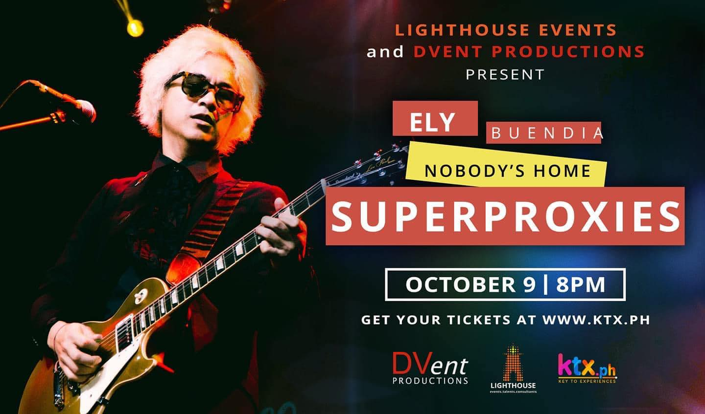 Ely Buendia: 'Superproxies' Virtual Concert Featuring Nobody's Home
