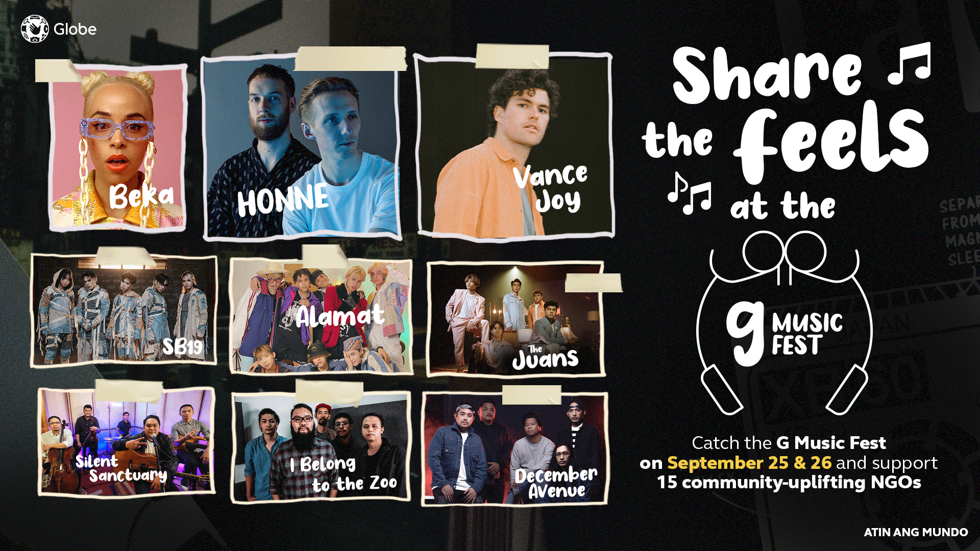 Honne, Vance Joy, Beka, SB19, Many More to Perform at G Music Fest 2021