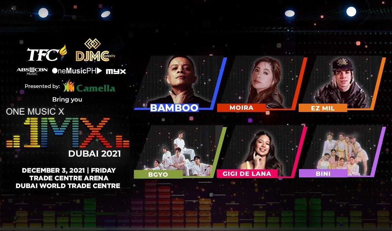 ABS-CBN Marks Comeback to International Live Events Via '1MX Dubai 2021'