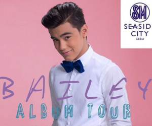 Bailey May Album Tour