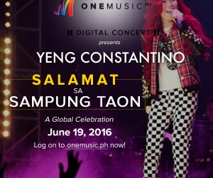 One Music PH Presents Yeng's Digital Concert