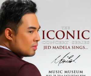 The ICONIC Concert Series Jed Madela Sings... Mariah